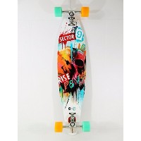 Sector 9 Rise And Fall 9.125 x 38 Drop Thru Longboard Complete by Sector 9