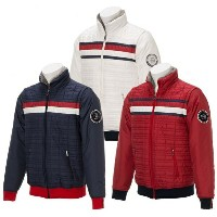 Tommy Hilfiger 2WAY FLAG PADDED JACKET MEN'Sトミーヒルフィガー メンズ フラッグ パデッド ジャケット