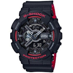 [カシオ]CASIO 腕時計 G-SHOCK Black & Red Series GA-110HR-1AJF メンズ