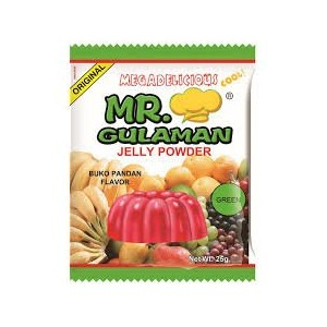 Mr.gulaman jelly powder buko pandan flavor