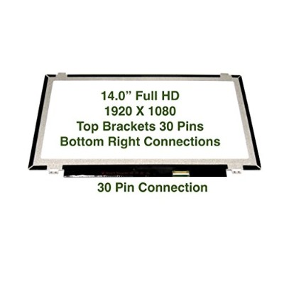 """Au Optronics B140htn01.1 Replacement LAPTOP LCD Screen 14.0"""" Full-HD LED DIODE (Substitute..."""