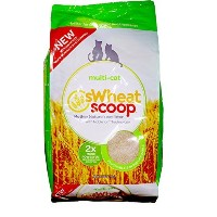 Swheat Scoop Unscented Natural Chimping Biodegradable Cat Multi Litter 25lbs