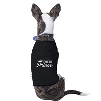Their Prince Black Pet Shirt Funny Pet Owners Gifts Small Pet Only