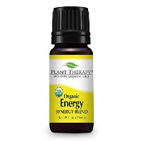 Plant Therapy Energy Organic Essential Oil Blend. 100% Pure and Undiluted for Aromatherapy,...