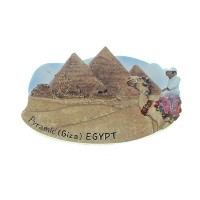 Egypt Great Pyramid Giza Cairo TOY Fridge Magnet by CooL Price Magnet