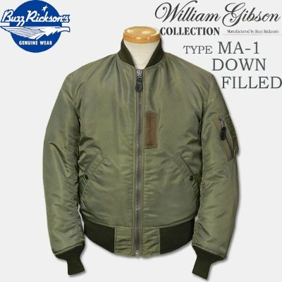 BUZZ RICKSON'S(バズリクソンズ)William Gibson Collection(ウイリアムギブソンコレクション)TYPE MA-1 DOWN FILLED【BR13653】