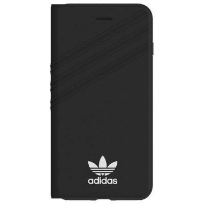 adidas iPhone 8 Plus用Booklet case adidas Originals Black/White 28601 [28601]