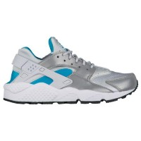 (取寄)Nike ナイキ レディース エア ハラチ Nike Women's Air Huarache Pure Platinum Marina Blue