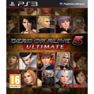 Dead or Alive 5 Ultimate (PS3) (輸入版)