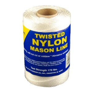 T.W. Evans Cordage 10-158 Number 15 Twisted Nylon Mason Line with 635 ft.