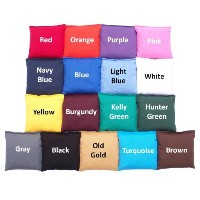 Weather Resistant Cornhole Bags ( Set of 8) by Cornhole Galaxy–17色から選択( selectcolors )