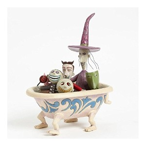 Jim Shore for Enesco Disney Traditions by Lock Shock and Barrel in Tub Figurine, 8-Inch [並行輸入品]