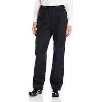 Uncommon Threads 4010-0106 Traditional Chef Pant in Black - 2XLarge