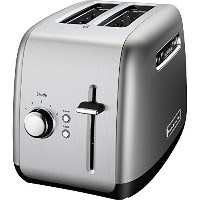 KitchenAid Toaster with Manual High Lift Lever, Contour Silver [並行輸入品]