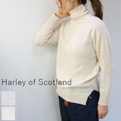 Harley of Scotland(ハーレーオブスコットランド)TURTLE KNIT 2colorl4221-5