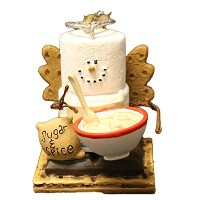 S'mores Angel Sugar and Spice Christmas Ornament by Midwest-CBK [並行輸入品]