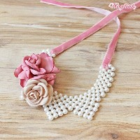 WOOFLINK (ウーフリンク) FLORETS NECKLACE【小型犬 セレブ アクセサリー ネックレス 犬用品】
