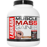 Labrada Nutrition Muscle Mass Gainer, Chocolate, 6 Pound by Labrada