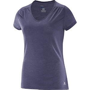Salomon Ellipse SS Tee – Women 's US サイズ: S カラー: グレー