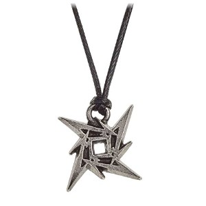Metallica Necklace Pendant Ninja Star band logo 新しい 公式 Alchemy Siver