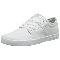 Supra Mens Stacks II Off White White Skate Shoes