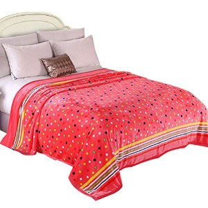 Zhhlaixing Fashion Pattern Printing Thick Flannel Blanket 居心地の良い 柔らかい Throw Plush Rug Sofa Bedding...
