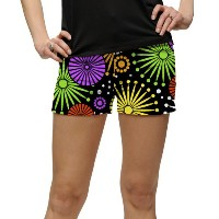 LoudMouth Ladies Ferris Wheels Mini Shorts【ゴルフ レディース>パンツ】