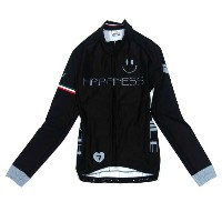セブンイタリア Happiness Smile Lady LS Jersey Black レディース