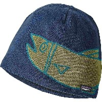 パタゴニア メンズ 帽子 ニット【Patagonia Lined Beanie】River Mouth / Glass Blue