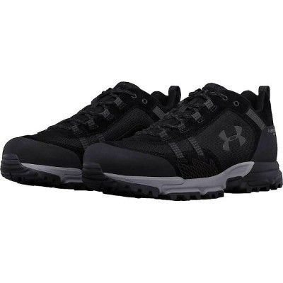 アンダーアーマー メンズ 陸上 シューズ・靴【Under Armour UA Post Canyon Low WP Shoe】Black / Steel / Nori Green