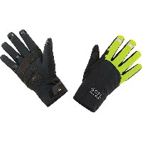ゴア メンズ 自転車 グローブ【Gore Bike Wear Universal Gore Windstopper Thermo Glove】Neon Yellow / Black
