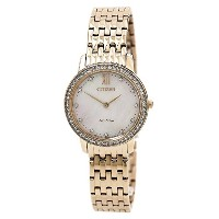Citizen Watches Womens ex1483–50d eco-drive Rose Gold Tone