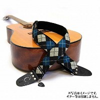 "Capturing Couture キャプチャリンクチュール ギターストラップ Joey Blue 2"" Guitar Strap"