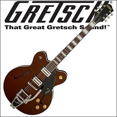 GRETSCH G2622T Streamliner Center Block with Bigsby Walnut Stain Limited Edition エレキギター