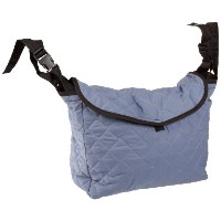 Ableware 703300001 Gray Cotton Mobility Tote Bag, 11 Length, 14-1/2 Width, 5 height by Maddak Inc.