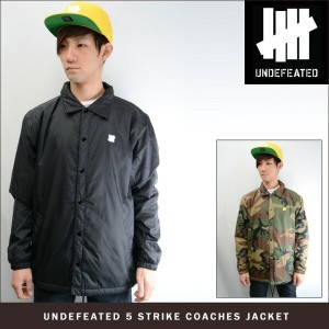UNDEFEATED 5 STRIKE COACHES JACKET (2色展開)アンディフィーテッド ジャケット
