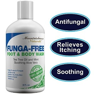 (ボディウォッシュ) Antifungal Soap with Tea Tree Oil. Foot  Body Wash. Fungus Soap Helps Treat Athlete..