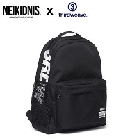 ★NEIKIDNIS★SNSで話題★ X THIRDWEAVE★CITY DAYPACK - BLACK ネイキドニス 大容量 バックポケット 3色?