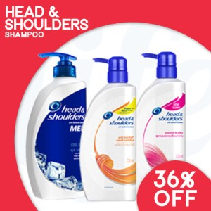 [PnG] Head and Shoulders Shampoo at the Lowest Promo Price【BUNDLE OF 2】