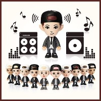 ★☆★LOWEST PRICE★☆★OFFICIAL EXO FIGURE BLUETOOTH SPEAKERS