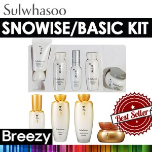 [BREEZY]★雪花秀トライアルキット!4種/5種/ Sulwhasoo  Basic Kit 4 Items / Snowise 5 Items /韓国コスメ