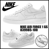 [314192-117] 【NIKE】 ナイキ AIR FORCE 1 GS エアフォース 1 GS 314192-117 NIKE AIR FORCE 1 GS WH/WH