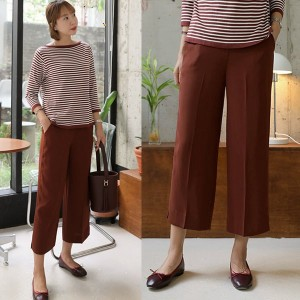 [PURPLE] Bera wide pants