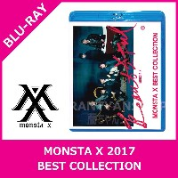 MONSTA X 2017 BEST COLLECTION BLU RAY 新曲 BEAUTIFUL 収録★K-POP DVD アルバム グッズ TVLIVE