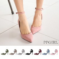 送料 0円★PPGIRL_9429 Mary Jane high heels / simple / basic / shoes / pumps