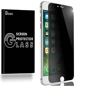 (イヤホン 保護フィルム) iPhone 8 Plus / iPhone 7 Plus 5.5 [BISEN] Anti-Spy Tempered Glass Screen Protector