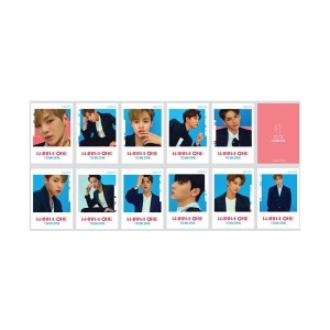 在庫品 WANNA ONE POPUP STORE GOODS : POSTCARD SET 全国送料無料 201709  201708
