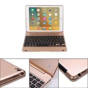 Ultra Thin Wireless Bluetooth Keyboard Case For iPad pro 9.7 iPad Air 2 Tablet Keyboard Case With...