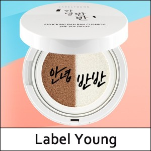 [Label Young] ? Shocking Ban Ban Cushion SPF50+ PA+++ 15g / Foundation + Moisture Cushion