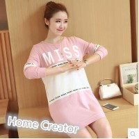 Pregnant women go out in the long clothing sweater color t-shirt post-natal feeding jacket